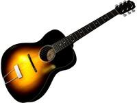 c4d gibson acoustic guitar l4