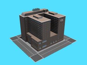 free adam s mark hotel 3d model