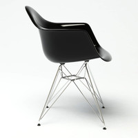 3d dar armchair design model