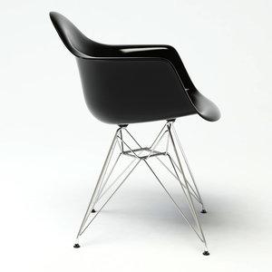 3d dar armchair design model