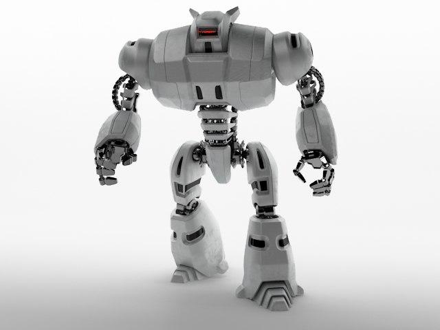 robot dg240 3d model