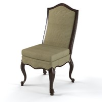 3ds max dining chair classic