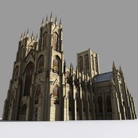 3d yorkminster cathedral