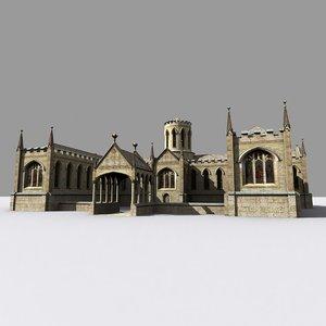 maya medieval gothic style manor