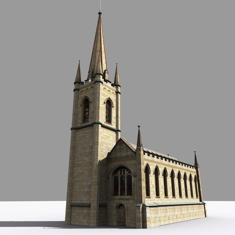 medieval gothic parish church max