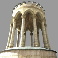 Medieval Gothic Style Well