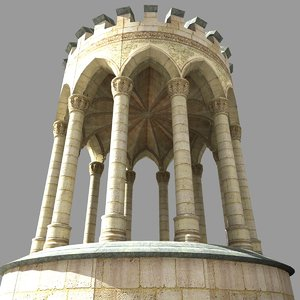 medieval gothic style 3d model