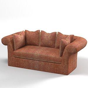 henredon classic sofa max
