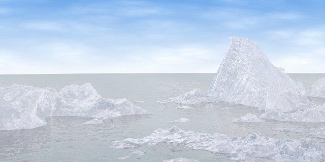 maya ice iceberg