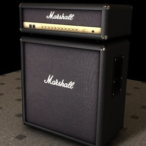 marshall speaker 3d model
