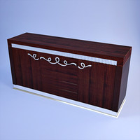 florence collections sideboard 3d max