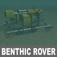 3d robot ocean model