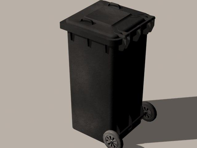 3ds max german trashbin