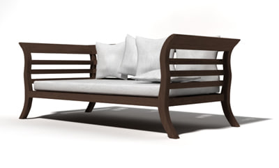 wonosobo chair 3d model