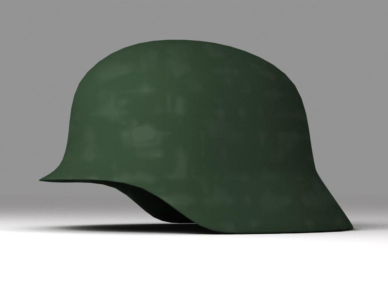 3ds max german helmet