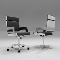 charta conference chair 3d model