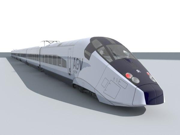 train agv max