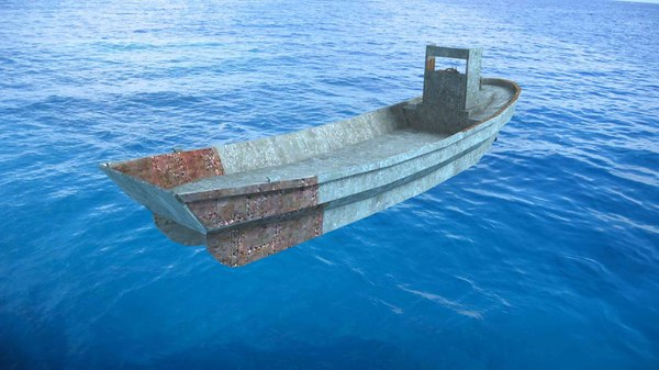 daihatsu landing craft 3d model