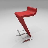 Bar Stool 02 - Carrello