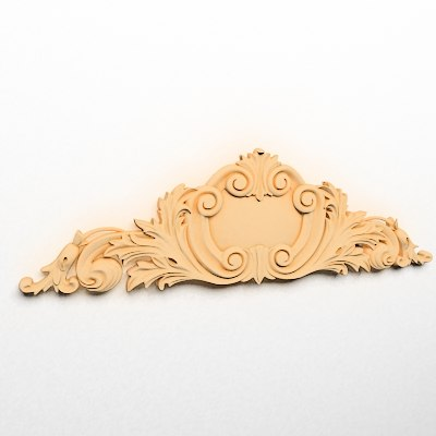 3d model cartouches decoration