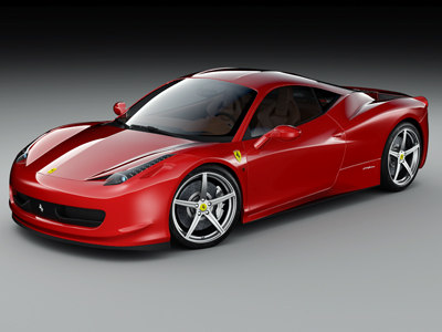 2010 ferrari 458 italia 3ds