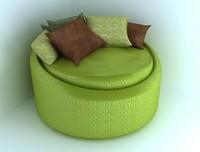3d galactica sofa brian leib model