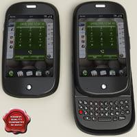 palm pre 3d model