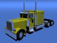 3d realistic truck model