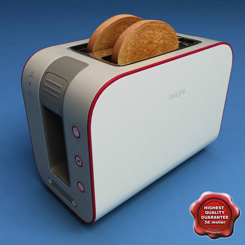 3d toaster philips hd