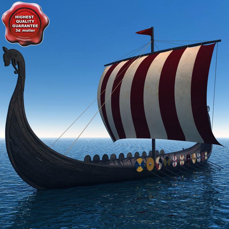 3ds max viking ship