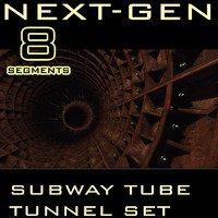 Next-Gen Subway Tube Tunnel set