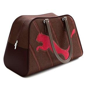 puma bag 3d model