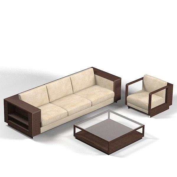 ceccotti ics modern contemporary sofa chair coffee table