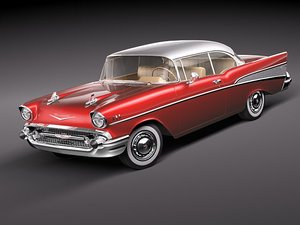 chevrolet bel air 3d max
