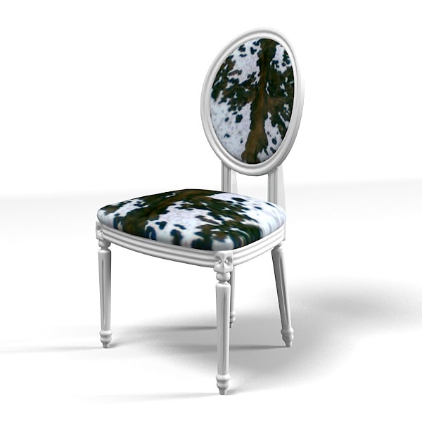Outstanding Classic Dining Chair Cow Skin Round Oval Back Bralicious Painted Fabric Chair Ideas Braliciousco