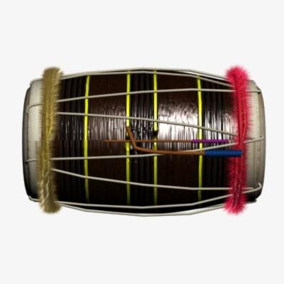 dholak drum bhangra 3d max