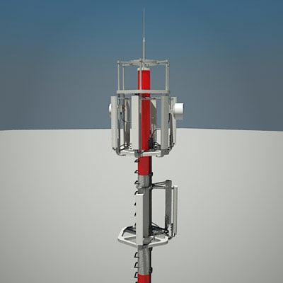 tower 1 3d model