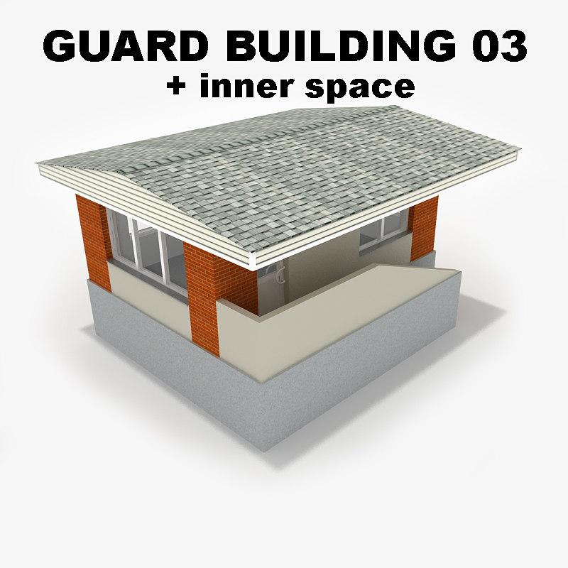 guard building 03 3ds