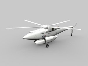 3d model hummingbird a160t helicopter