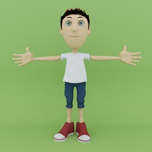 character rigged c4d