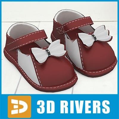 3dsmax kids shoes
