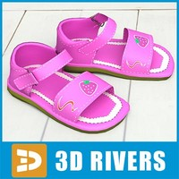 Kids shoes 20 by 3DRivers