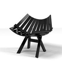 3d moooi chair modern
