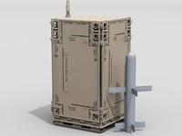 3d missile launcher