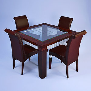 florence collections dining set 3d max