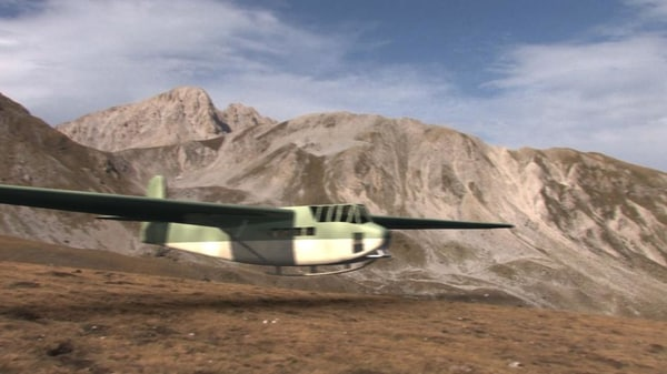 dfs 230 german glider 3d model