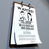 wanted poster 01 3d 3ds