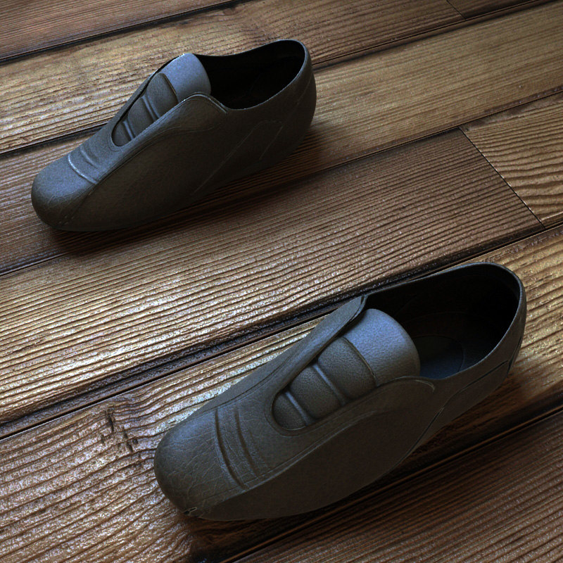 shoe man 3d model