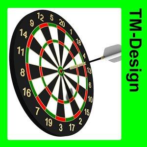 darts 3d model