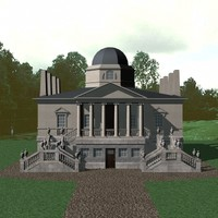 3ds max mansion building